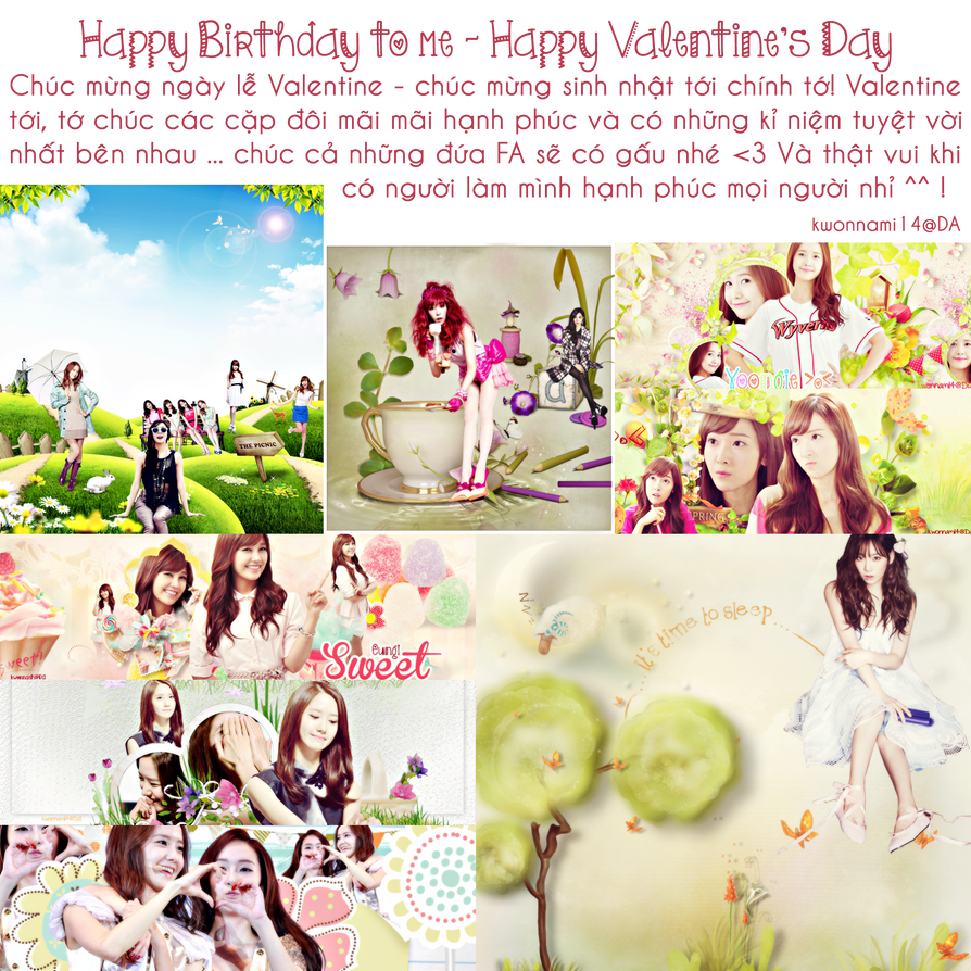 [14.02.14]-[PSD Free] HappyValungtung-My Birthday by kwonnami14