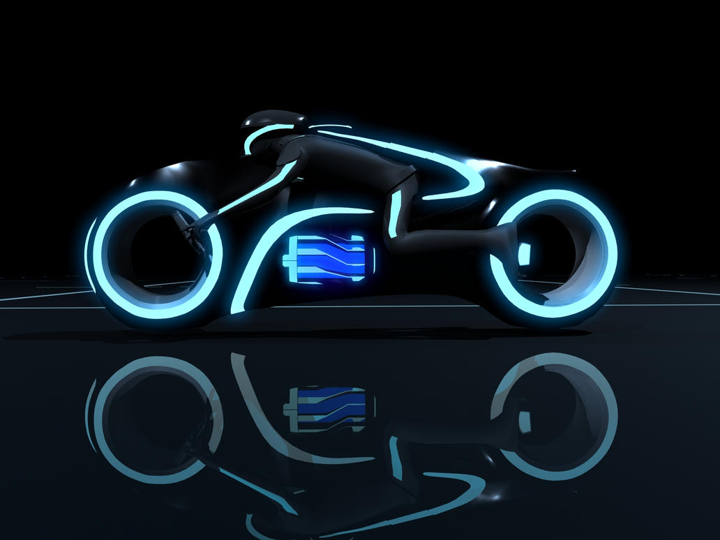 Tron Legacy Light Cycle By Pforbes88 On Deviantart