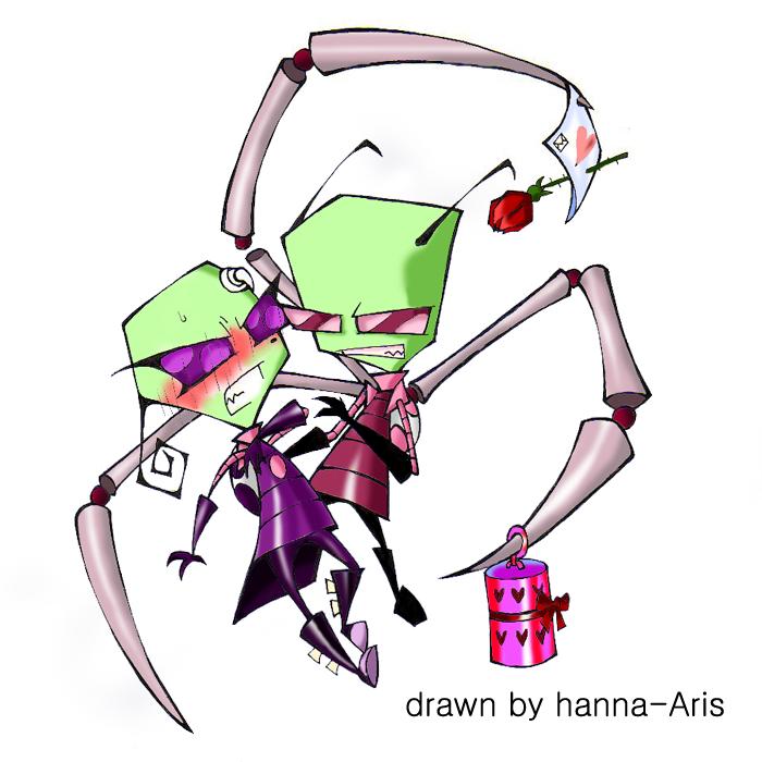 Tak and Zim by hanna-ArisZim And Tak Romance
