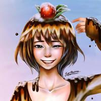 sweet like a pudding by hanna-Aris