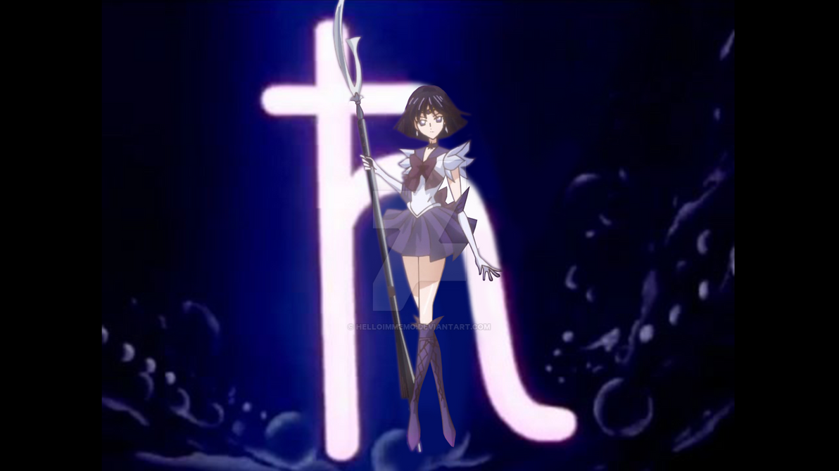 Sailor Saturn in Sailor Moon Crystal by HelloImMemo on DeviantArt