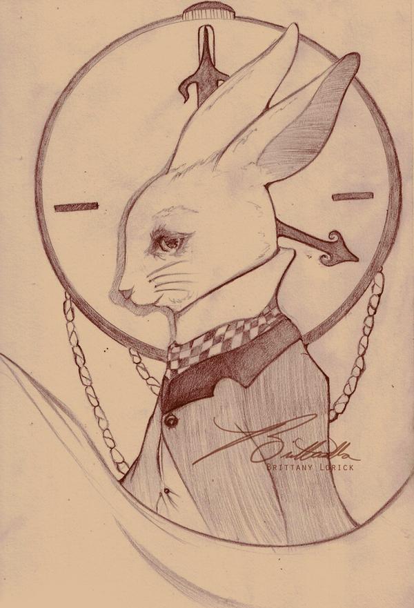 The White Rabbit by britterella