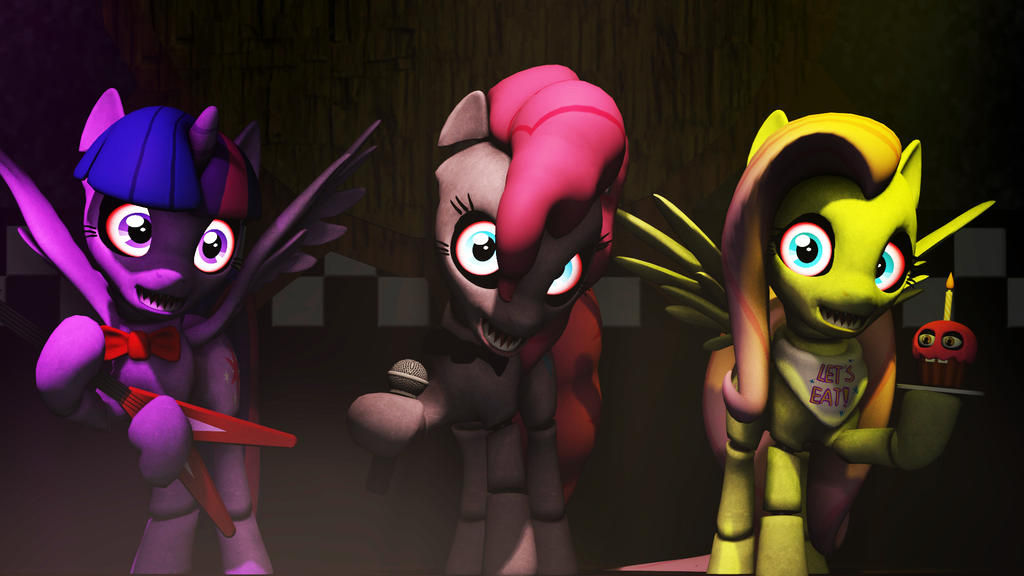 [SFM] Five Nights at Pinkie's by Warden737 ...