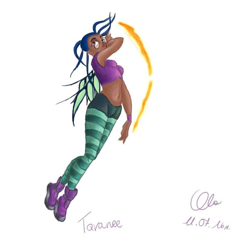 Taranee W.I.T.C.H. by Alex-hime-san