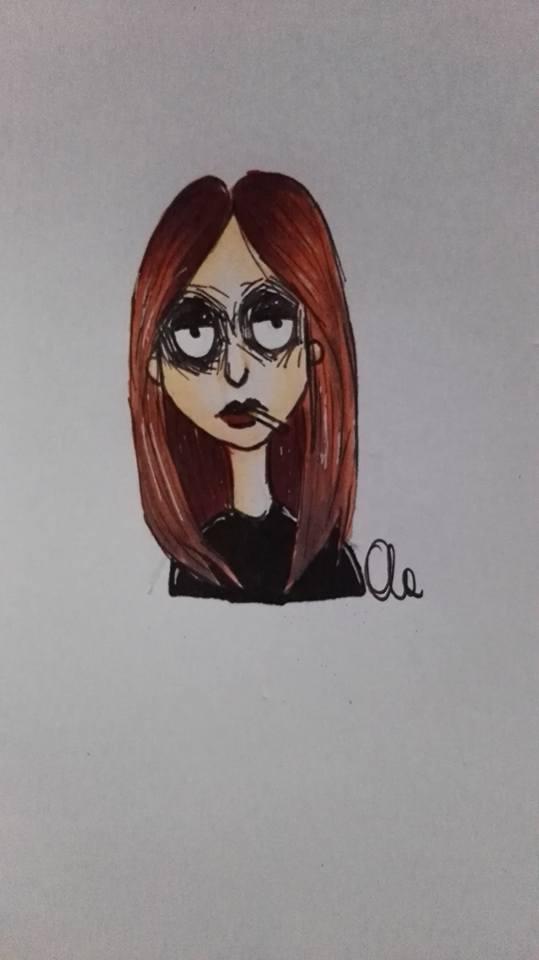 self portrait by Alex-hime-san