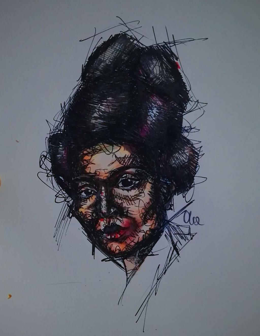 dark geisha by Alex-hime-san