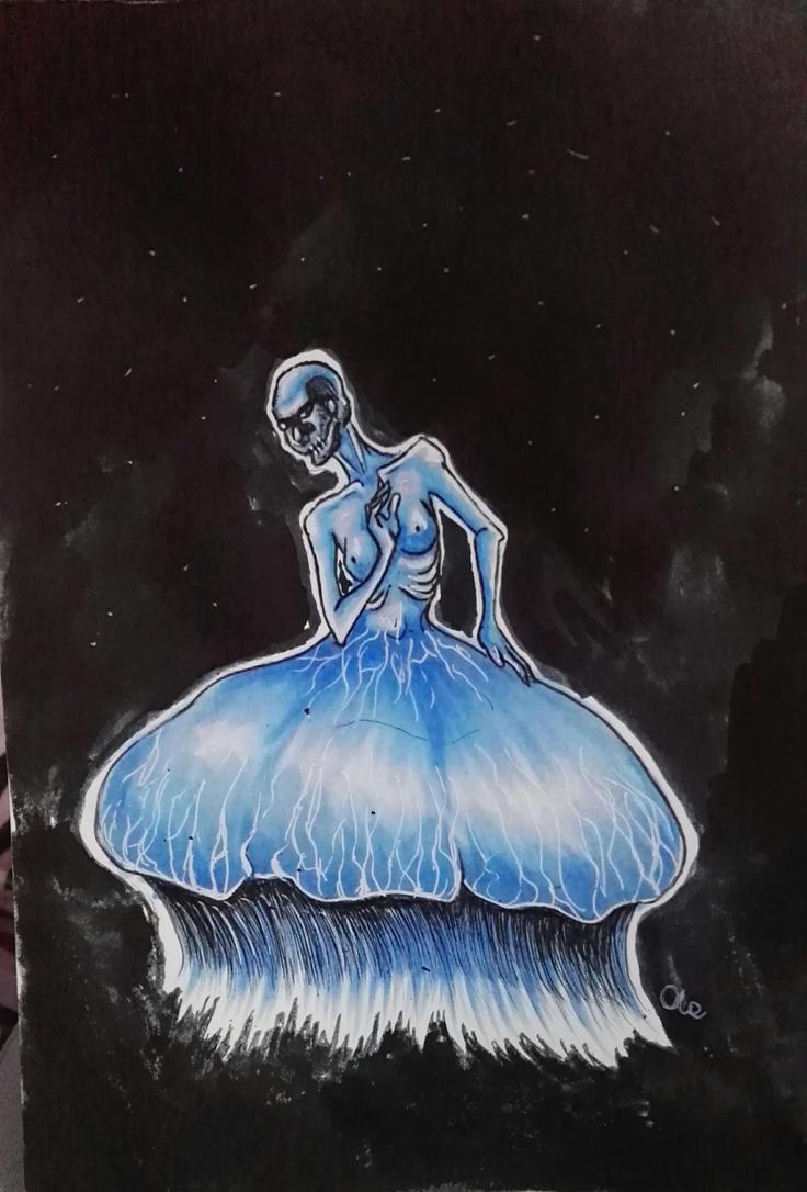 jellyfish lady by Alex-hime-san