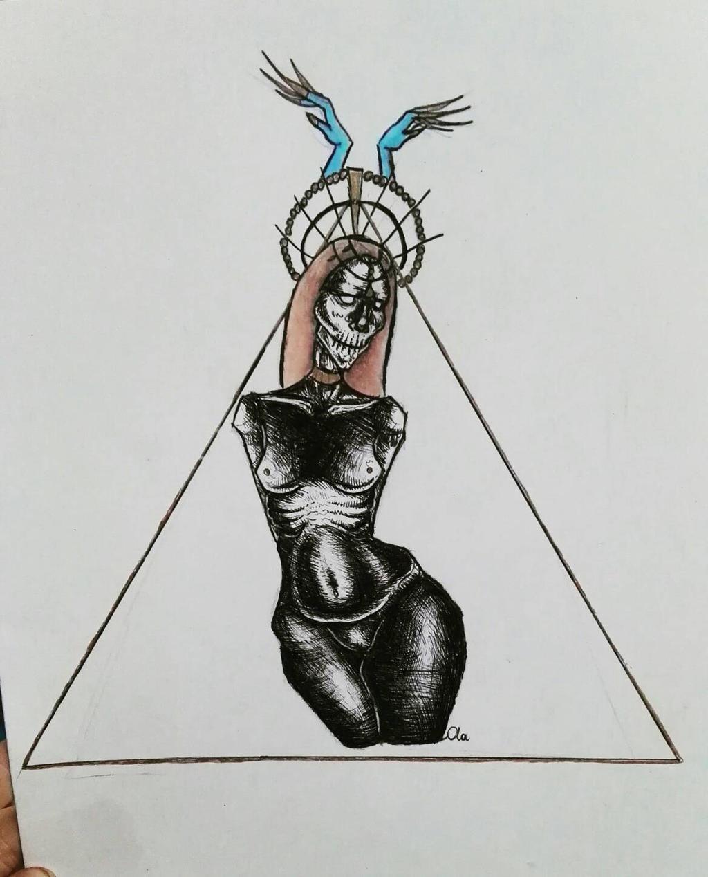poludnica slavic demon by Alex-hime-san