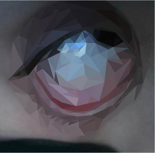 low poly eye or smth by Alex-hime-san