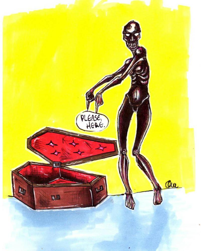 coffin by Alex-hime-san