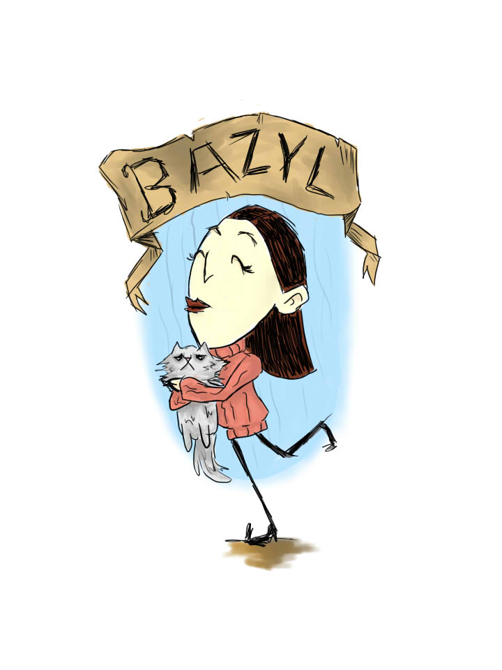 bazyl-don't starve ver. by Alex-hime-san