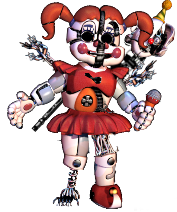 Mlp Circus Baby X Ennard Pictures To Pin On Pinterest