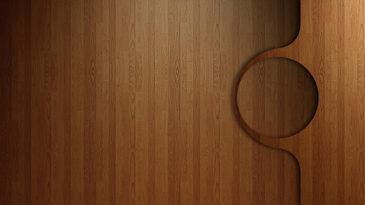 Rainmeter Wood Theme No Appbar by greyjasper