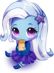 Chibi Trixie!!! by MillionCookies