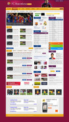FCBarcelona official site by rozmin