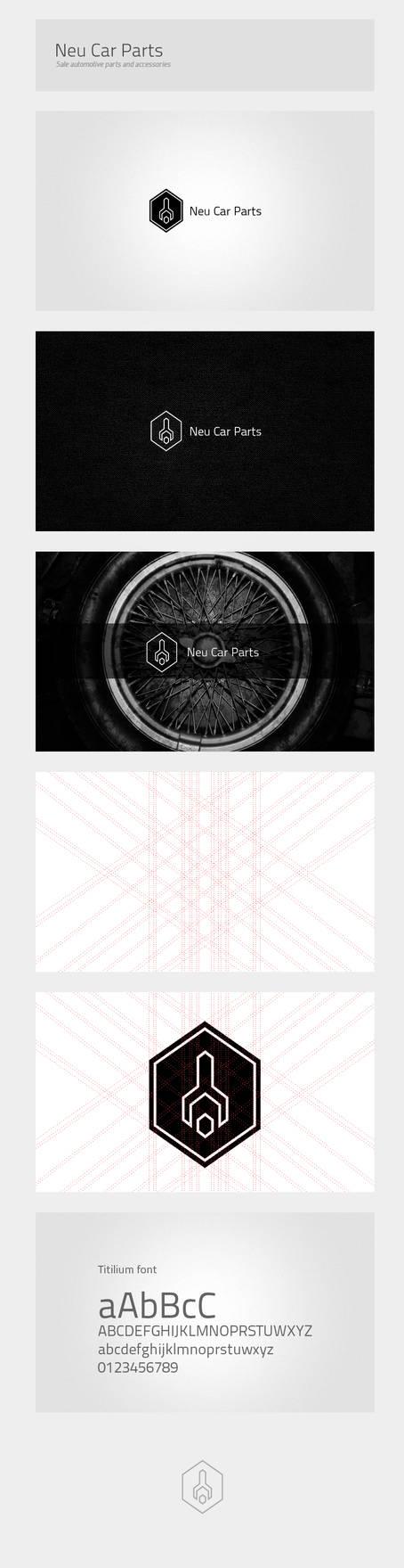 Neu Car Parts - rejected logo