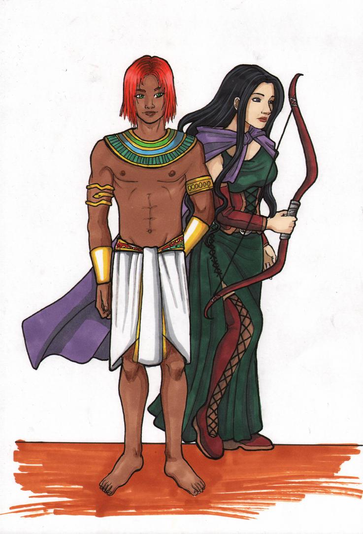 Ramses and Leyla by Valaquia