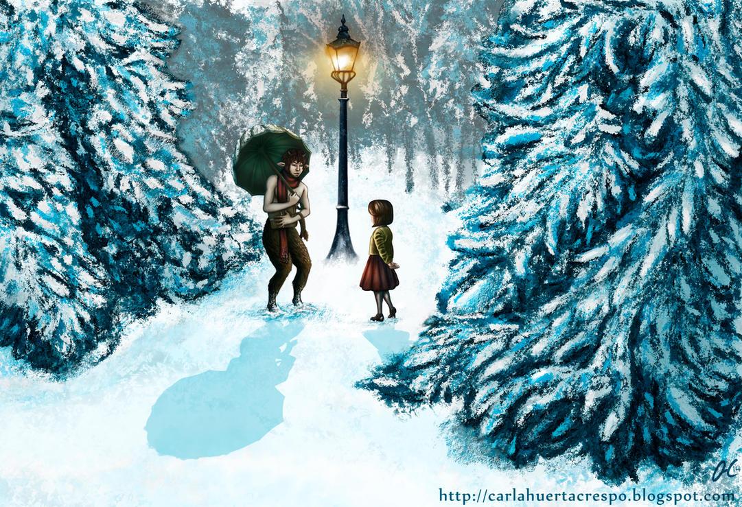 Narnia Meeting Mr. Tumnus by Valaquia