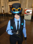 What time is it? - Nightwing cosplay