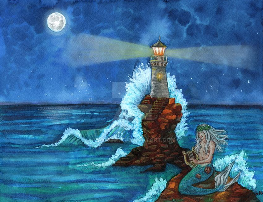 The Lighthouse by Valaquia
