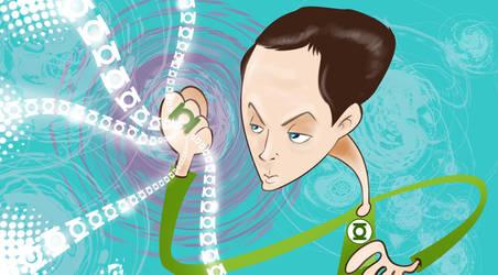 Sheldon Cooper by vancamelot