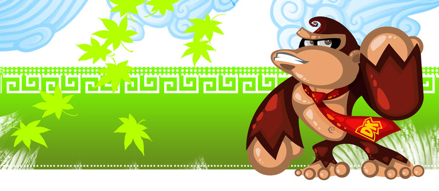 Donkey Kong by vancamelot