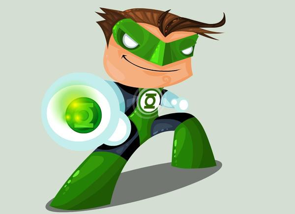 Green Lantern by vancamelot