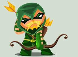 Green Arrow by vancamelot