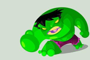 Hulk by vancamelot