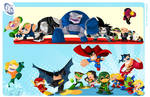 D.C Superheroes