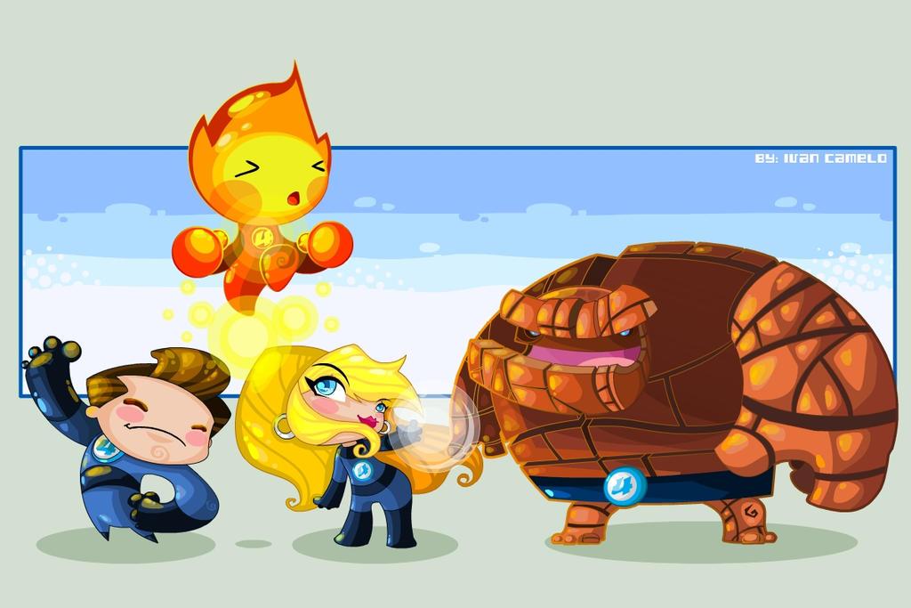 Fantastic Four by vancamelot