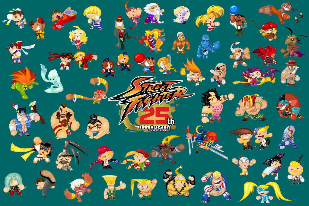 STREET FIGHTER 25TH ANNIVERSARY TRIBUTE 5 by vancamelot