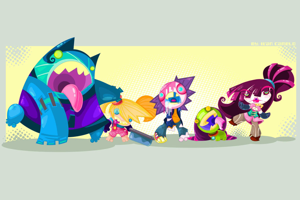 Zombos Family by vancamelot