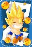 Goku by vancamelot