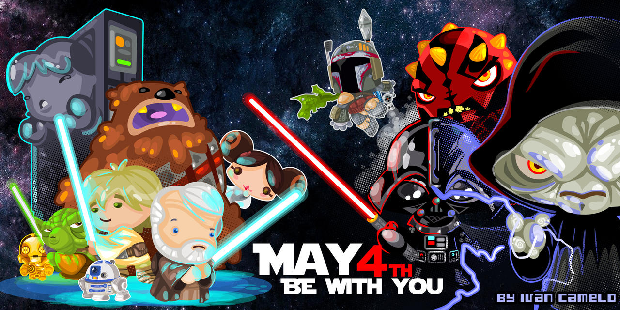 May the 4th be with you!!! by Vancamelot