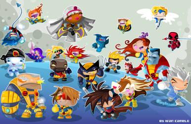 X-Men Good Guys by vancamelot