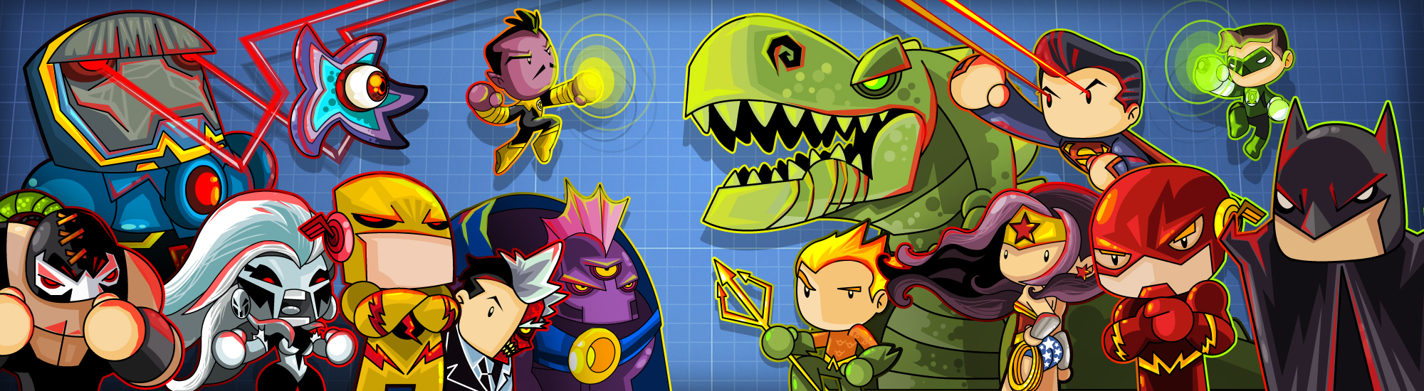 Scribblenauts Unmasked Contest by vancamelot