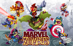 Marvel Zombies Comission