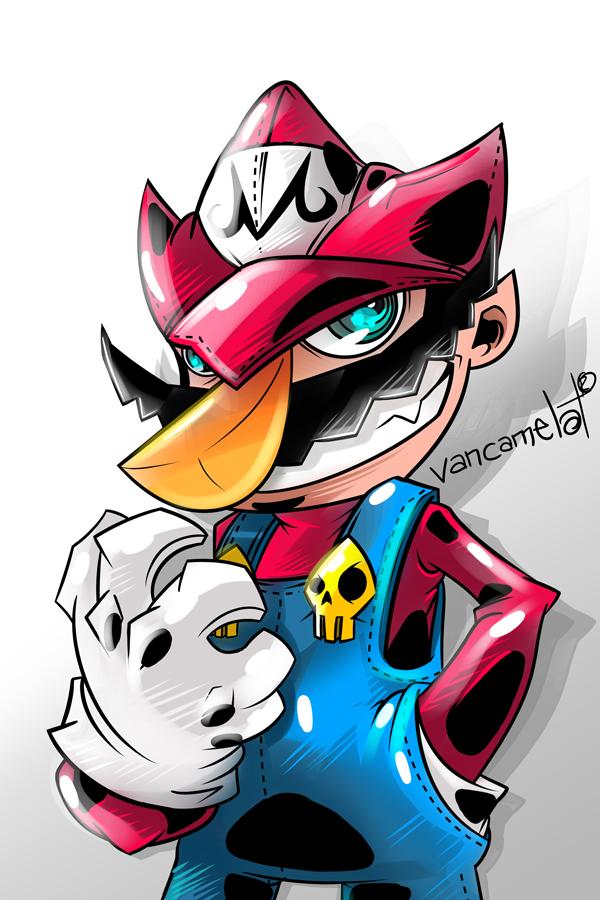 Makai Mario by vancamelot