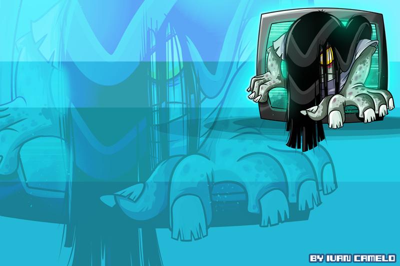 Sadako!!! by vancamelot