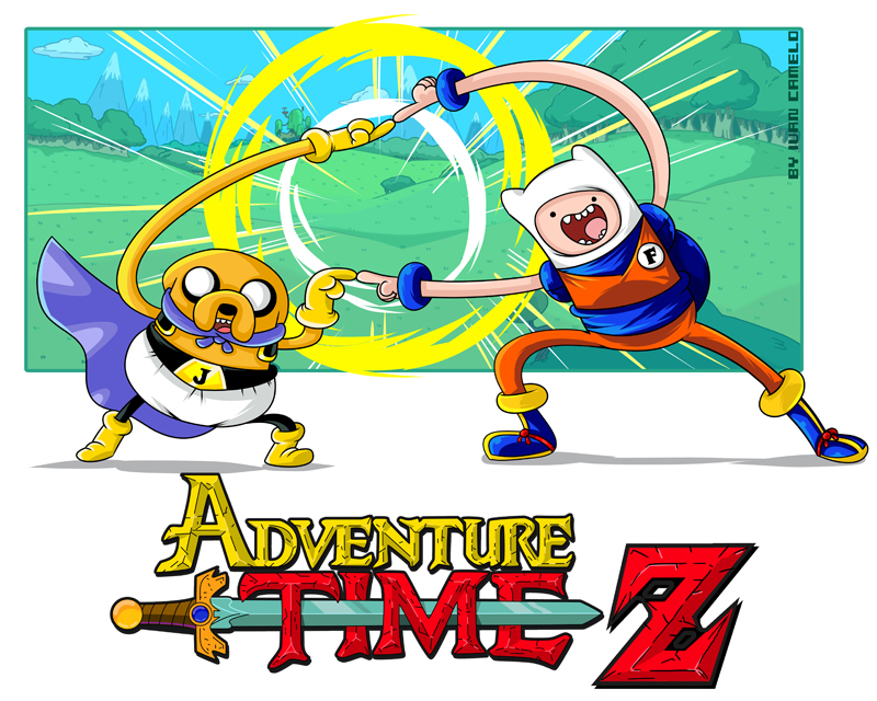 Adventure Time Z!!! by vancamelot