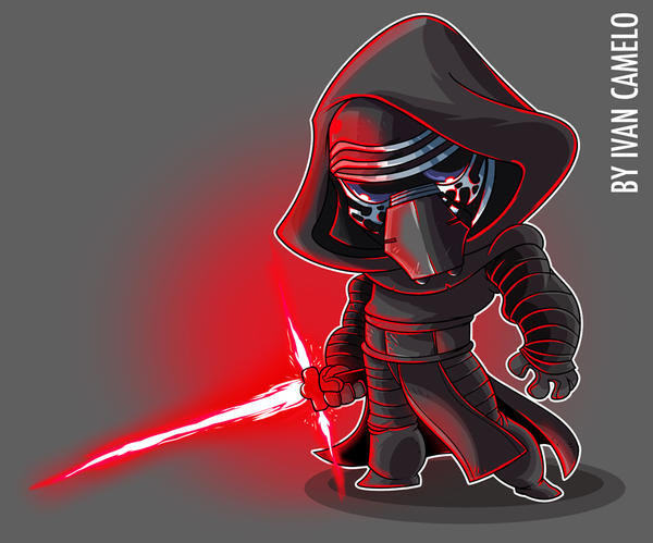 Kylo by vancamelot