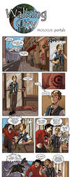 Walking City Audition: Ben VS Cat by AD-Ink