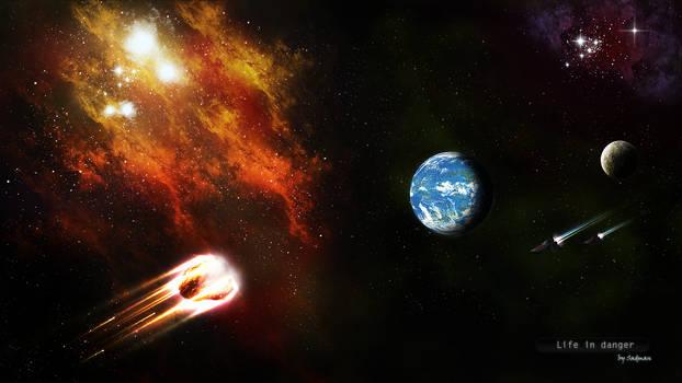Blue planet in danger