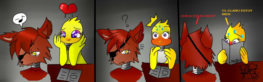 Foxica comic 1 by amandawas on deviantart