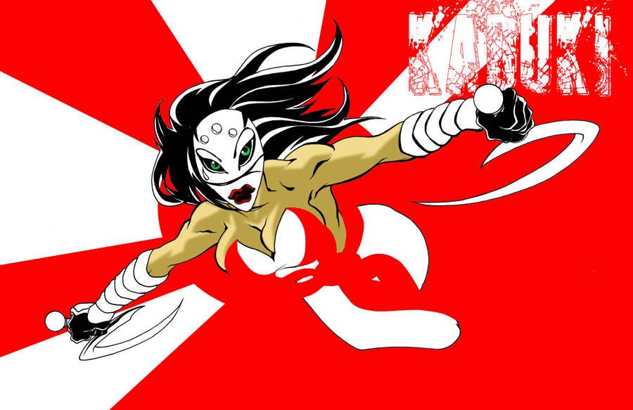 Kabuki Attacks by 5000WATTS