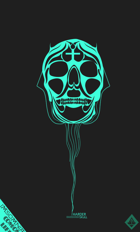 Harder Skull by luquituxxx