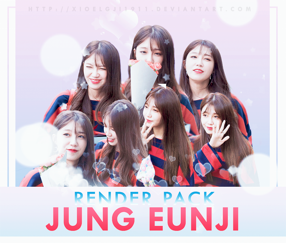 RENDER PACK /// APINK - JUNG EUNJI by Xioelgji1911