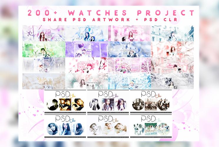 \\\ 200+ watchers . PROJECT /// by Xioelgji1911