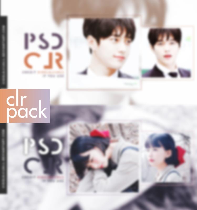 CLR PACK /// 171006 by Xioelgji1911